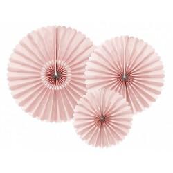 Decori ventaglio Rosa Pastello