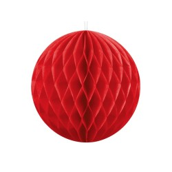 Sfera di carta Rossa 30 cm