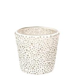 Portacandele votivo Mosaico bolle di vetro Yankee Candle
