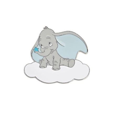 Calamita in metallo Dumbo azzurro