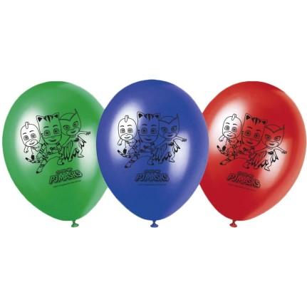 Palloncini PJ Masks assortiti - pezzi 8