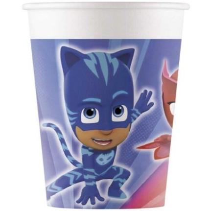 Bicchieri in carta PJ Masks - pezzi 8