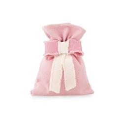 Sacchetto rosa con fiocco