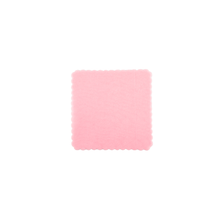 Velo di fata quadrato Rosa 24x24 cm