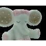 Elefante salvadanaio rosa
