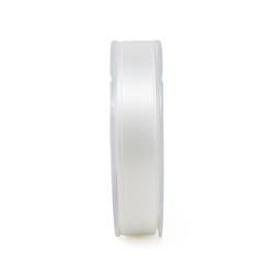 Doppio raso italiano Bianco 13 - 25 mm